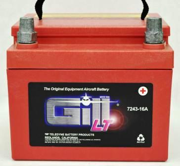 Teledyne Gill 7243-16A generator battery